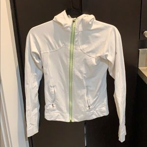Lululemon white sport jacket